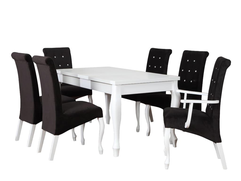 Zestaw Krzesło K 6 Stół Alan Ludwik